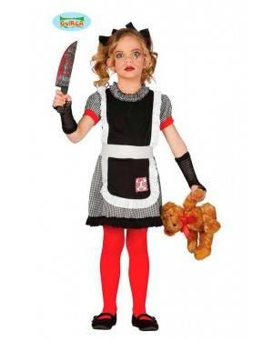 Costume Bambola Gothic Bambina per Carnevale