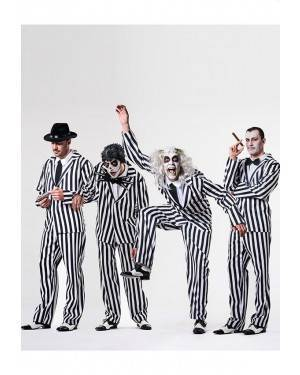 Costume Beetlejuice Adulto Taglia M/L per Carnevale | La Casa di Carnevale