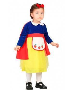 Costume Biancaneve 0-6 Meses per Carnevale