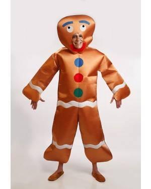 Costume Biscotto Zenzero Taglia M/L per Carnevale   La Casa di Carnevale