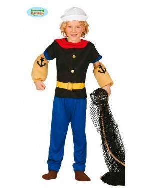 Costume Braccio di Ferro Bambino per Carnevale