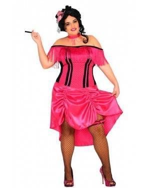 Costume Cabaret Rosa XL per Carnevale