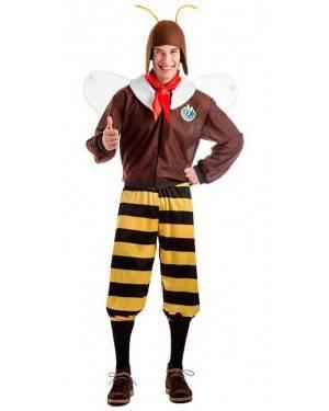 Costume Capitano Calabrone Taglia M-L per Carnevale