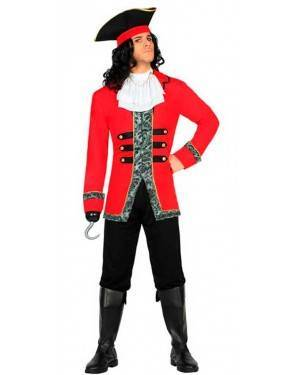 Costume Capitano Pirata XL per Carnevale