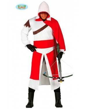 Costume Cavaliere Assassin Adulto per Carnevale