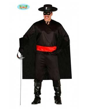 Costume Cavaliere Nero Adulto per Carnevale