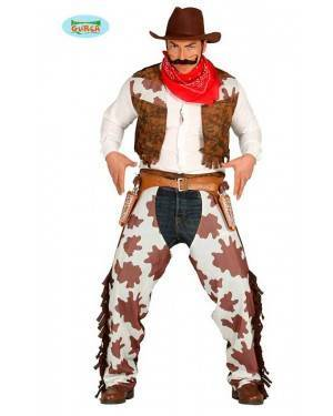Costume Cow Boy Rodeo Adulto