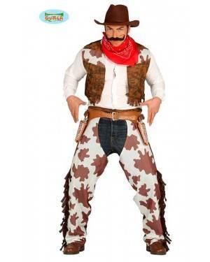 Costume Cow Boy Rodeo Adulto per Carnevale
