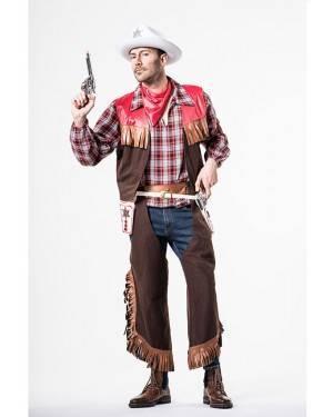 Costume Cowboy Adulto Taglia M/L per Carnevale | La Casa di Carnevale