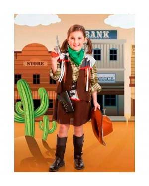 Costume Cowgirl Bambina per Carnevale