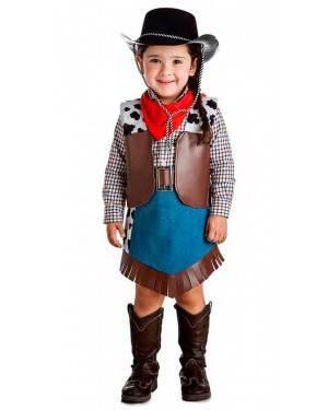 Costume Cowgirl Taglia 10-12 Anni per Carnevale
