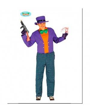 Costume Crazy Trickster Adulto