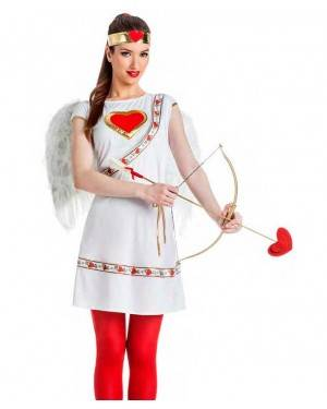 Costume Cupido Donna Taglia M/L per Carnevale