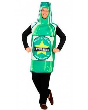 Costume da Bottiglia di Birra M/L per Carnevale
