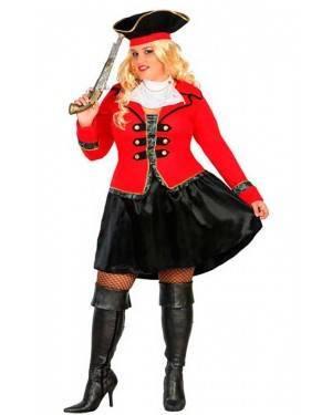 Costume da Capitana Pirata XL per Carnevale