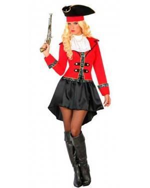 Costume da Capitana Pirata XS/S per Carnevale