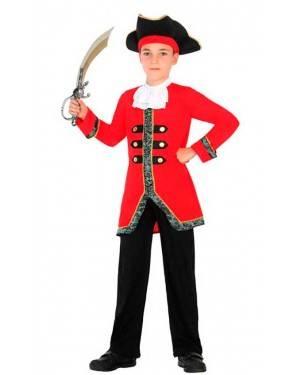 Costume da Capitano Pirata 3-4 Anni per Carnevale
