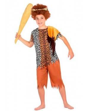 Costume da Cavernicolo 7-9 Anni per Carnevale