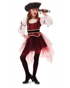 Costume da Corsara Bambina per Carnevale | La Casa di Carnevale