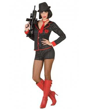 Costume da Donna Gangster per Carnevale | La Casa di Carnevale