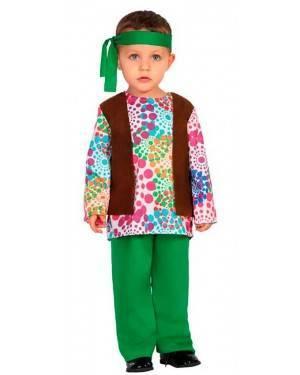 Costume da Hippie 12-24 Mesi per Carnevale