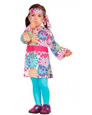 Costume da Hippie 6-12 Mesi per Carnevale