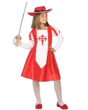 Costume da Moschettiera Bambina per Carnevale | La Casa di Carnevale