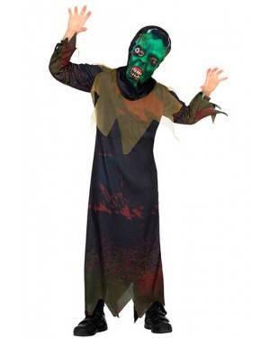 Costume da Mostro 7-9 Anni per Carnevale