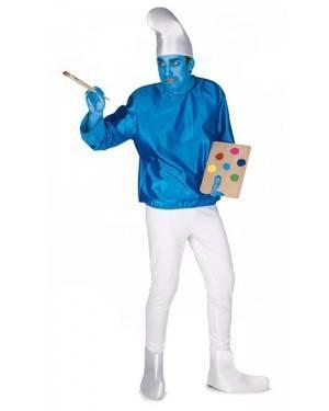 Costume da Nano Blu Adulto M/L per Carnevale | La Casa di Carnevale