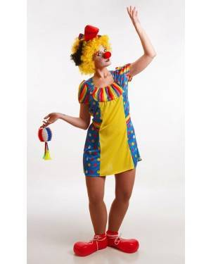 Costume da Pagliaccia Adulta M per Carnevale   La Casa di Carnevale