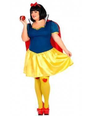 Costume da Principessa della Neve XXL per Carnevale