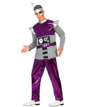 Costume da Robot Adulto M/L per Carnevale