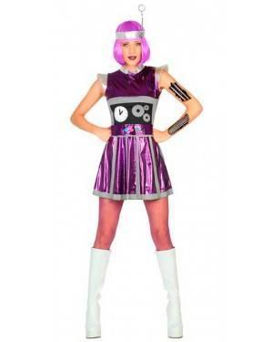 Costume da Robot Donna XS/S per Carnevale