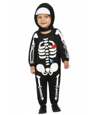 Costume da Scheletro Bebè per Carnevale | La Casa di Carnevale