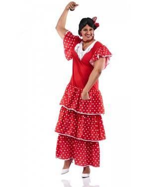 Costume da Sivigliana Adulto Taglia XL per Carnevale | La Casa di Carnevale