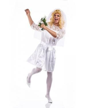 Costume da Sposa Uomo Adulto Taglia XL per Carnevale | La Casa di Carnevale