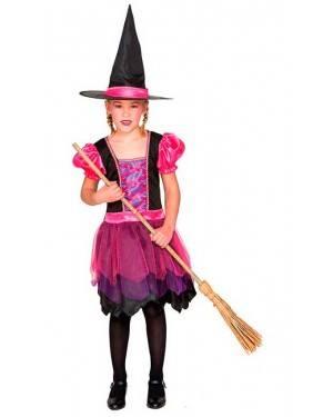 Costume da Strega Lila 7-9 Anni per Carnevale