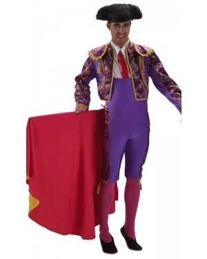 Costume da Torero Viola Adulto M/L per Carnevale   La Casa di Carnevale
