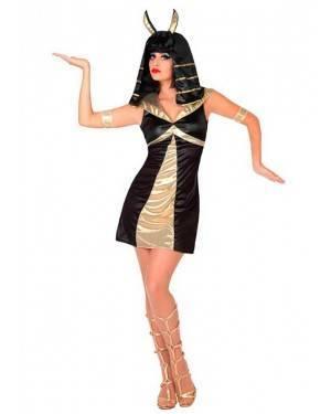 Costume Dea Egiziana M/L per Carnevale
