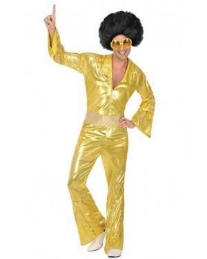 Costume Disco Dorato Uomo per Carnevale | La Casa di Carnevale