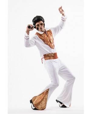 Costume Elvis Re del Rock T. M/L