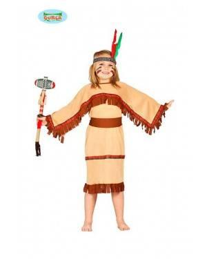 Costume Indiana Marrone Bambina