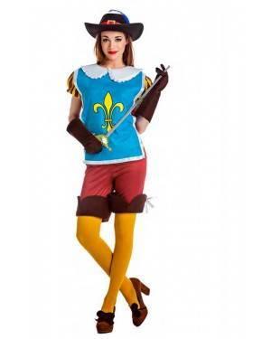Costume Moschettiera Reale Taglia M-L per Carnevale