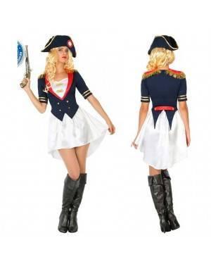 Costume Napoleone Donna XL per Carnevale