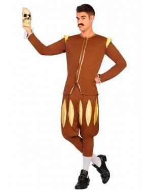 Costume Scrittore Medievale Adulto M/L per Carnevale