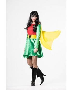 Costume  Super Eroina Robin Donna T. M/L