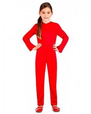 Costume Tuta Rossa Tg. 3-4 Anni