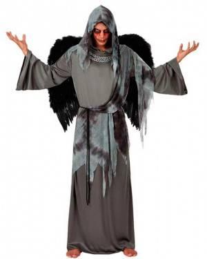 Costume Angelo Nero Adulto Tg. M/L