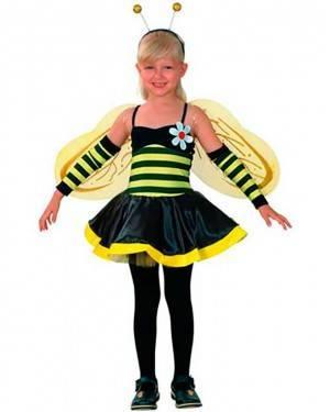 Costumi Ape Bambina Taglia 4-12 anni per Carnevale