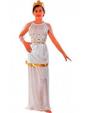 Costume Athena Bambina Tg. 4 a 12 Anni